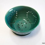 Jade Berry Bowl with Saucer