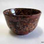 Shino Splatter Berry Bowl
