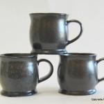 Black Green Teal Mugs